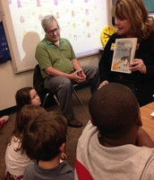 Ms. Crittenden's parents were our Mystery Readers this week!