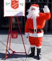 Salvation Army Santas