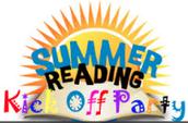 June 16th Summer Reading Kickoff 6-7