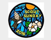 Scout Sunday, this Sunday February 7th