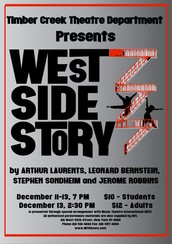 "Timber Creek Presents ""West Side Story"" December 11-13"
