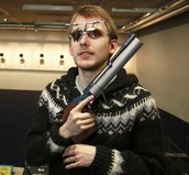 Iceland's first Olympic pistol shooter