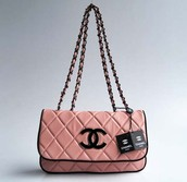 Quilted leather chanel