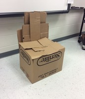 carboard chair