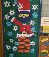 Another awesome door decoration parents have designed.