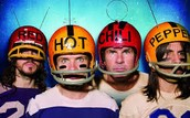 Red Hot Chili Peppers!