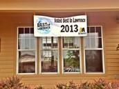 Voted Best of Lawrence