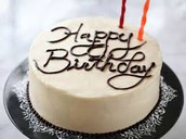 Student & Staff Birthdays: