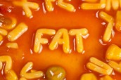 A lot of the foods you eat have fat...watch what you eat!