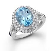 Aquamarine used in Jewelry