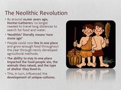 Info about Neolithic Revolution