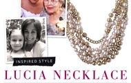 The timeless Lucia necklace.
