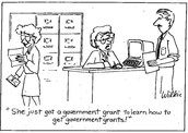 Training and studying successful grants is helpful.