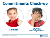 📝 Commitment Check-up Visual Aid