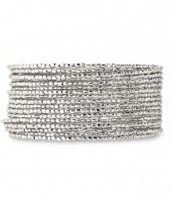 Bardot Bangle - silver