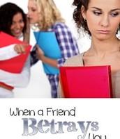betrays
