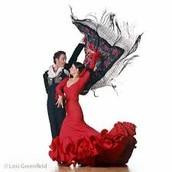 Flamenco dance parters