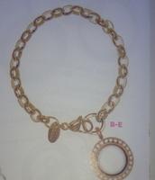 Dangle Bracelet with Mini Locket