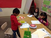 Stamping our color words