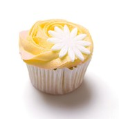Joy's Jolly-Lemon Cupcake