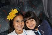 Eu e minha melhor amiga Yasmin