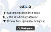 Quizzity-A Geography Game
