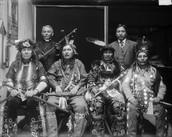 Group of Ojibwe Hunters