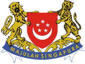 The crest Singapore decided on after separation