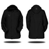 Chaqueta negro ($ciento trienta y siete)
