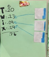 TWIX and MATH..adding with place value
