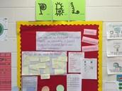 PBL Wall Ms. Paris' 1st grade class