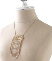 *SOLD* Avalon Fringe Necklace $25