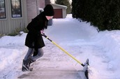 Our snow shoveling is the cheapest and most reliable snow shoveling service! (Not Real)