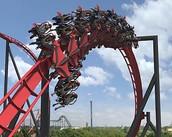 Flight X roller coaster