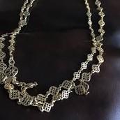 Devon Layering necklace - silver - Orig. $49.00 $20.00