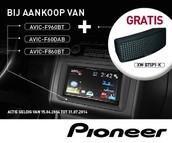 Ontvang bij de aankoop van de AVIC-F860BT een Bluetooth Media Player