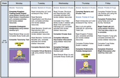 6 Week Schedule