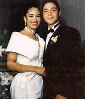 Selena Quintanilla  and Chris Perez Wedding