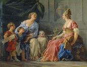 Cornelia, mother of the Gracchi, Noel Halle