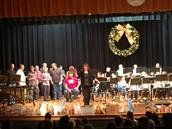 6th Grade Band Playing I Jingle