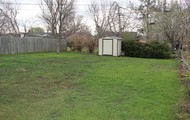 Huge, fenced back yard