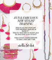 FUN & FABULOUS New Stylist Training Call!! (or one who wants to re-launch!)