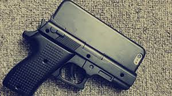 The gun shaped Iphone case