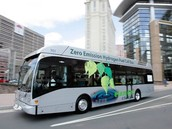 Hydrogen Fueled Bus