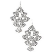 Geneve Lace earrings silver