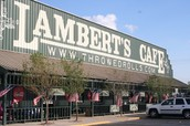What is Lambert's Cafe?