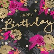 Happy Birthday:  September