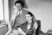 Frida y su esposa