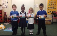 Last week's award winners