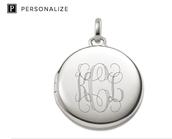 Monogram It in Sterling Silver or 12K Gold